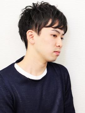 シンプル黒髪