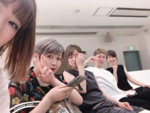 【小岡梨香】ヤングチームとカラー講習