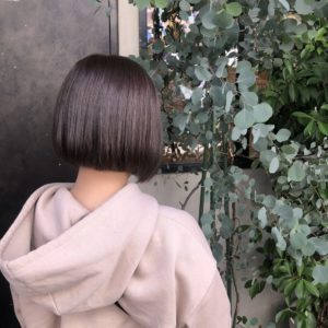 【竹内春奈】カラーカット〜