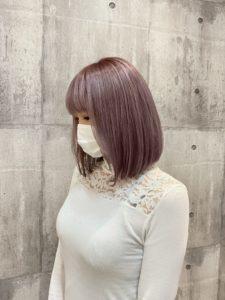 《戸田 希緒菜》カラーリング