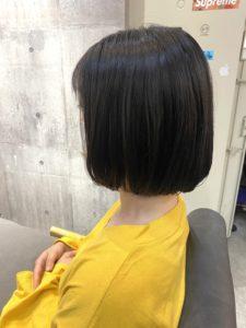 【深山美春】タッセルボブ×インナーカラー