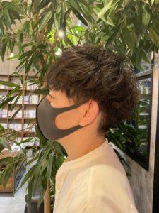 【深山美春】メンズパーマ紹介