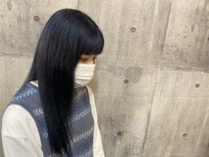 【佐藤ひかる】ネイビーブルー〇